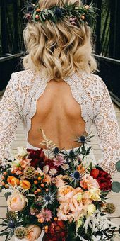 30 Sophisticated Backless Wedding Dresses