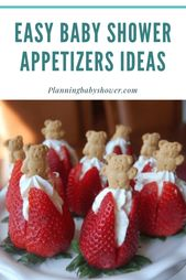 baby shower food ideas appetizers easy – Unique baby shower ideas