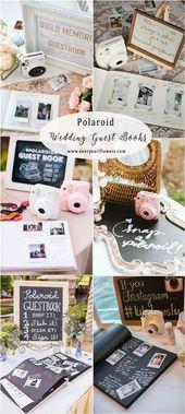 Prime 16 Ideen für kreative & lustige Hochzeitsgästebücher – Hochzeit
