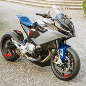 Die Zukunft der Abenteuersportmodelle? Das BMW Motorrad Concept 9cento bietet …   – BMW K100