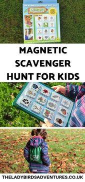 Sucher Magnetschnitzeljagd Bewertung – Kid Projects & Fun Stuff