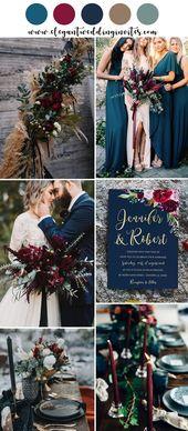 Invitations  jewel tone boho inspired wedding colours