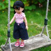 vêtements jupe, t-shirt et chaussures pour poupée type Chéries de Corolle ……   – Jupes