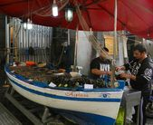 #MondayMood: I might fairly be in Catania. 🐟 . The fish market, or Pescheri…  #Catania #Fish …