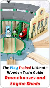 Wood Prepare Roundhouses and Engine Sheds — The Play Trains! Final Wood Prepare Information