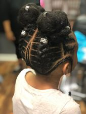 Fashionable braids hairstyles for black girls youngsters 1