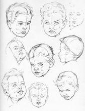 Wie man Baby- und Kleinkindköpfe in den richtigen Proportionen zeichnet – Zeich…