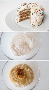Erster gesunder Kuchen für ein gesundes Baby, einfach mit allen natürlichen Zutaten zuzubereiten …   – First bday cake