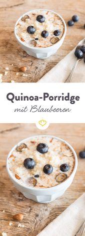 Photo of Quinoa porridge with blueberries