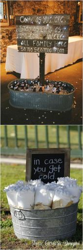 ideas rústicas de la boda del cubo del país #weddings #weddingideas #dpf #deerpearlflowe …   – <3