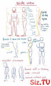 Kunst Tutorials  amp  Referenzen    Haben einige d #amp #Art #der #drawing #Draw…