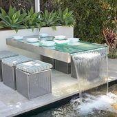Ich liebe die Heckanlage, weil sie wenig Wasser verbraucht., #heckanlage #liebe… – Angelica Heitzinger Dekoration Blog
