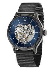Maserati Automatic Watch & # 39; HAU Epoca & # 39; 42mm Herren, Dunkelblau / Schwarz, Größe One Size   – Products