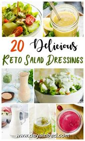 Do-it-yourself Keto Salad Dressing Recipes -You Will Love!