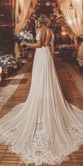 36 wunderschöne a-line Brautkleider, eine Linie Brautkleider mit Spaghetti