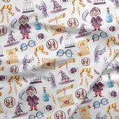 Surface Patterns Digital Paper Bundle Watercolor Cliparts Magic Cliparts Clipart Bundle Wizarding Bundle Seamless Patterns