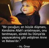 Möge mein Herr gute Kinder großziehen -AMIN- # Mutter #Kinder #Dua # …   – Çocuk Gelişimi Atölyesi