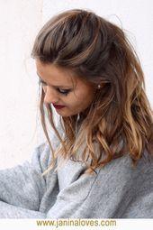 Von der Sonne geküsst: Haare im sommerlichen Balayage-Stil. Karamellblond Hallo …   – Hairstyles