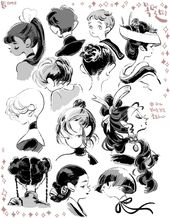 Illustrator Shortcuts  Why I love ponytails and shortcuts.. it's because of nape.