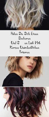 Holen Sie Sich Einen Sauberen   Und Süßen Look Mit Kurzen Unordentlichen Frisuren – DE