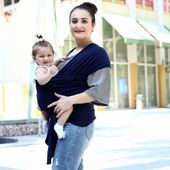 Baby Carrier Baby Sling Wrap Babyback Carrier Ergonomic Infant Strap Porta Wikkeldoek Echarpe De Portage Accessories for 0-18 Months Gear - BJ red