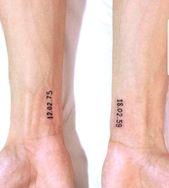 77 niedliche und minimalistische kleine Tattoo-Ide…