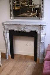 Image result for grey marble fireplace surround