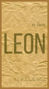 Baby Boy Name Leon Meaning Lion Origin Latin Greek English Vintagedaydream Names