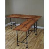 The Admiral's Desk Reclaimed Wood ($ 425) ❤ gefällt auf Polyvore mit hom …