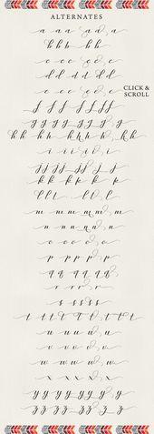 Rambies – Handschriftliche Kalligraphie – Schrift-Styles – #Camigraphy #written #Ra …..
