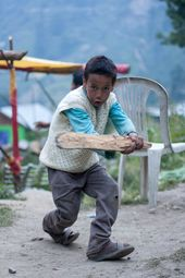 Pictures From Fans Cricket Photo Gallery Espn Cricinfo Fan Army Kids Playing Fan Picture