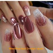 35 Simple Ideas for Wedding Nails Design 1 #nailartideas #naildesign