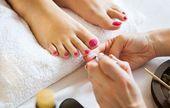 Pediküre zu Hause #Home #Nagelpflegeprodukte #Nagelpflege Zitrone # Pediküre #BeautyB …