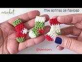 Gehäkelte Mini Weihnachtsschuhe | Stricken Site