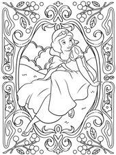 Ausmalbilder Disney Frozen