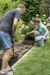 So legen Sie ein schmales Beet an – Garten