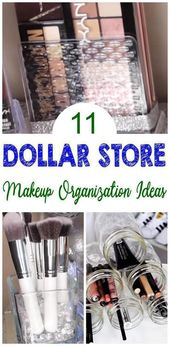 11 Dollar Store Tricks Organization that are borderline genius – #Borderli …