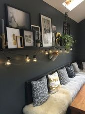 55+ Wunderbare Schlafzimmerdekoration Ideen #bedro…