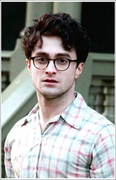 Daniel Radcliffe Messy Curly Hairstyle for Boys – #frisurenjungs