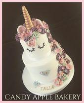 30+ Impresionante foto de pasteles de cumpleaños de 2 niveles Pasteles de cumpleaños de 2 niveles Unicornio de 2 niveles …   – unicorn cake