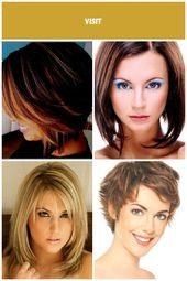 Hairstyles Medium-length Stepped back of the head, # hairstyles …