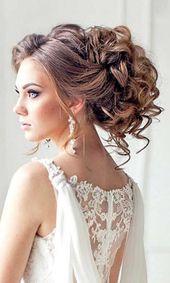 20 Frisuren für Hochzeiten: lange Haare