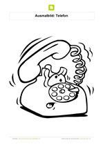 Ausmalbild Telefon Klingelt Kostenlose Ausmalbilder Ausmalbilder Ausmalen