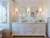 Shiplap Badezimmer. Wie benutzt man Shiplap im Bad …