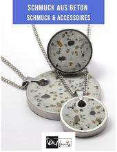 Right on trend: 6 great ideas for jewelry made of concrete