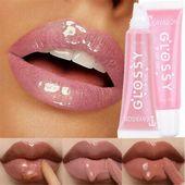 Moisturizing Easy 3D Lip Plumper Cherry Shiny Matte Liquid Lipstick Lip Gloss
