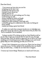 a letter to a best friend quotes and thoughts best friend quotes friendship quotes friends