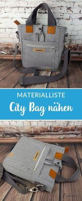 "Tasche ""My City Bag"" von Lialuma *Showroom*"