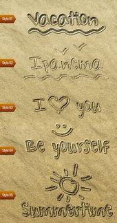 Sandschrift #AD #Sand, #Partner, #Schreiben