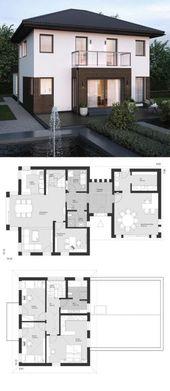 Hauspläne offenes Badezimmer 59 Trendy Ideas   – House !!